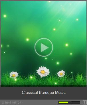 Listen Baroque music